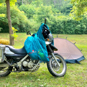 Schlafsack mit Almwolle für Van und Wohnmobil