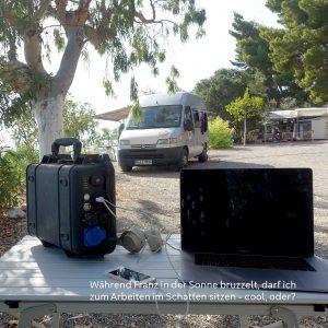 Die mobile Aufbaubatterie für das Arbeiten unterwegs