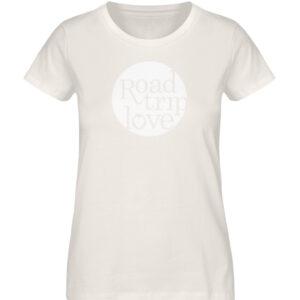 RoadtripLove Damen Organic Shirt_VINTAGE WHITE