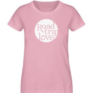 RoadtripLove Damen Organic Shirt_COTTON PINK