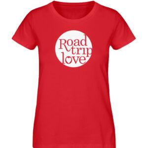 RoadtripLove Damen Organic Shirt_RED