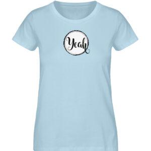 RoadTripLove - Shirt: Yeah - Damen Premium Organic Shirt-6888