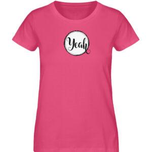 RoadTripLove - Shirt: Yeah - Damen Premium Organic Shirt-6930