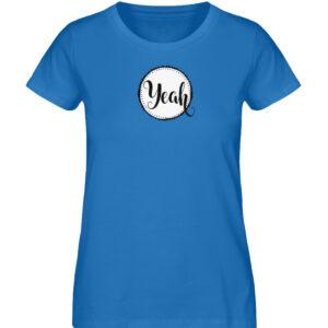 RoadTripLove - Shirt: Yeah - Damen Premium Organic Shirt-6886