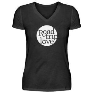 RoadTripLove Shirts - V-Neck Damenshirt-16