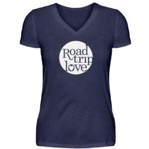 RoadTripLove Shirts - V-Neck Damenshirt-198