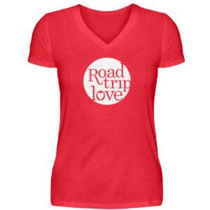 RoadTripLove Shirts - V-Neck Damenshirt-2561