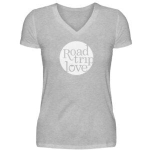 RoadTripLove Shirts - V-Neck Damenshirt-17