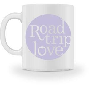 RoadTripLove - Tasse mit Fliederlila - Tasse-3