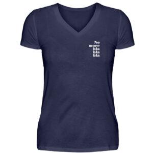 RoadTripLove - Shirt: No more blablabla - V-Neck Damenshirt-198