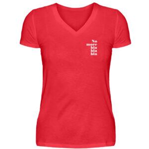 RoadTripLove - Shirt: No more blablabla - V-Neck Damenshirt-2561
