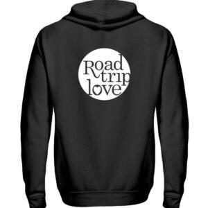 RoadtripLove Hoodie-Zipper BLACK