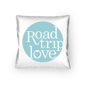 RoadtripLove Kissen mit Himmeltürkis