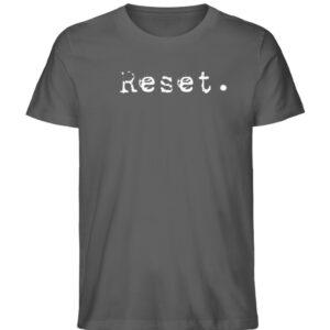 Reset - Herren Organic Shirt_ANTHRACITE