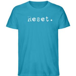 Reset - Herren Organic Shirt_AZURE