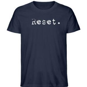 Reset - Herren Organic Shirt_FRENCH NAVY