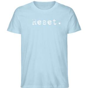 Reset - Herren Organic Shirt_SKY BLUE