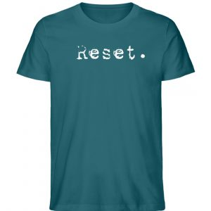 Reset - Herren Organic Shirt_OCEAN DEPTH