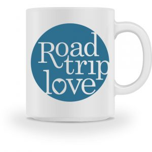 RoadTripLove - Tasse mit Meerblau - Tasse-3