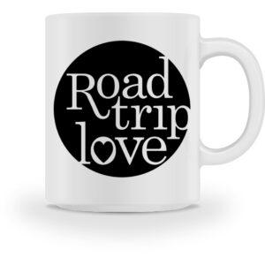 RoadTripLove - Tasse mit Nachtdunkel - Tasse-3