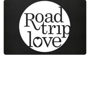 RoadTripLove Fußmatte BLACK