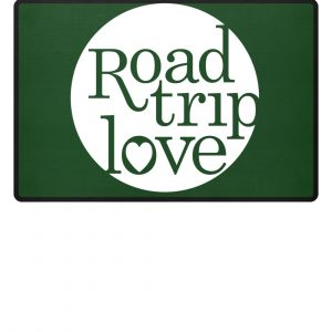 RoadTripLove Fußmatte BOTTLE GREEN