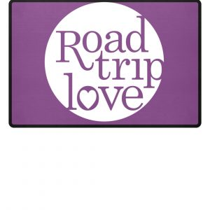 RoadTripLove Fußmatte PURPLE