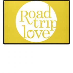 RoadTripLove Fußmatte YELLOW