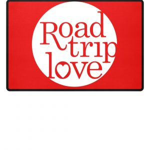 RoadTripLove Fußmatte RUBIN RED
