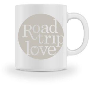 RoadTripLove - Tasse mit Kieselgrau - Tasse-3
