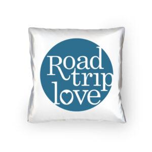 RoadtripLove Kissen mit Meerblau