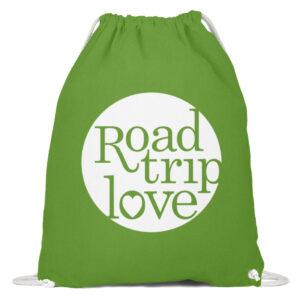 RoadtripLove Gymsac LIME GREEN