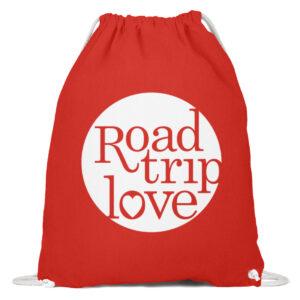 RoadtripLove Gymsac BRIGHT RED