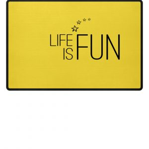 RoadtripLove - Life is Fun - Fußmatte-5766