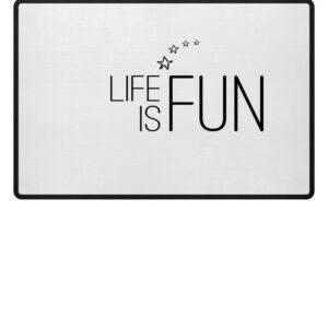 RoadtripLove - Life is Fun - Fußmatte-3
