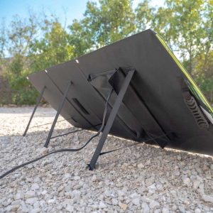Erzeuge Strom mit faltbarem Solar Modul
