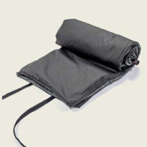 Große, beheizbare Decke für Camping und Zelt
