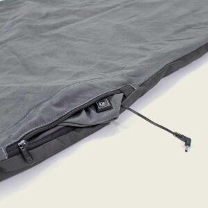 Große, beheizbare Decke zum Camping