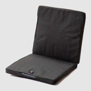 Beheizbares Sitzpolster für draußen