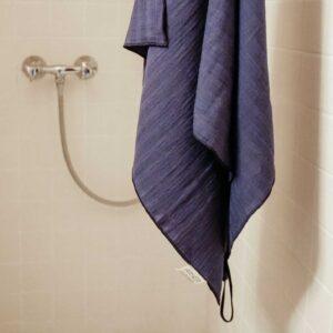 Schnell trocknendes Duschtuch für unterwegs