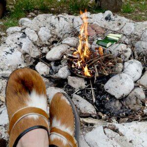 Meine Lieblingsschuhe zum Camping: Holzclogs