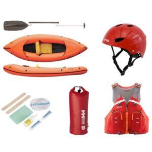 Dein Rafting Equipment, ein Packraft zum Mieten