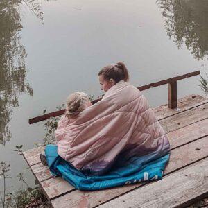 Picknickdecke wasserfest für Camping, Vanlife und Wandern