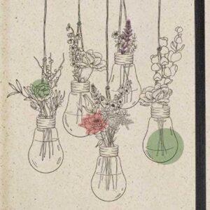 Kalenderbuch / Jahreskalender aus Graspapier, nachhaltig und ökologisch